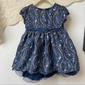 Janie & Jack • Silk Floral Dress